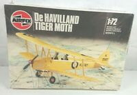 Airfix De Havilland Tiger Moth Plane 1:72 Model Kit Series 1 01015 - New Sealed