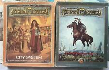 """Advanced Dungeon & Dragons """"Forgotten Realms"""" Campaign & Accessory Lots of Maps"""