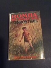 Bomba the Jungle Boy #6: ON TERROR TRAIL by Roy Rockwood TARZAN Pastiche