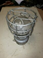 Vintage Crouse Hinds Industrial Explosion Proof Cage Light Factory Steampunk