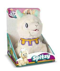 Club Petz Spitzy Funny Chewing Laughing Spitting Llama Interactive Plush Toy