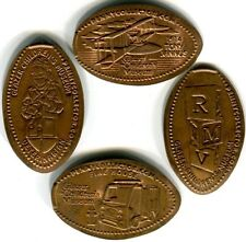 Glazer Children's Museum Tampa Complete Set Of Four Copper Pressed Pennies