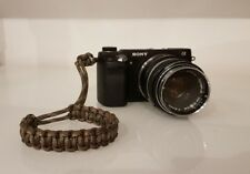 Paracord Camera Wrist Strap in Camo - Handmade in Scotland