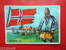 figurines cromos card figurine sidam gli stati del mondo 67 norvegia flags flag
