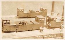 CANAL ZONE, PANAMA, TOWING CARS & DRIVERS OVERVIEW, REAL PHOTO PC, c. 1930's