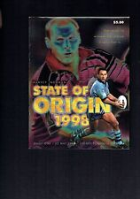 #VV4. RUGBY  LEAGUE MAGAZINE- 1998 STATE OF ORIGIN, GAME ONE