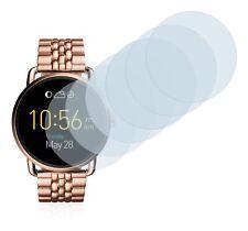 Fossil Q Wander  Smart Watch,  6x Transparent ULTRA Clear Screen Protector