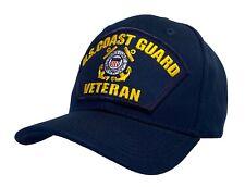 U.S. Coast Guard Veteran Hat Blue Ball Cap