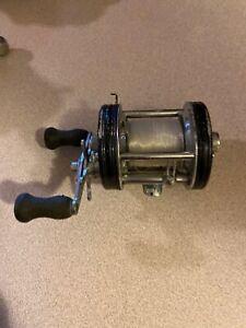 Vintage ABU Garcia Ambassadeur 6000 C Black Baitcasting Fishing Reel  #047200