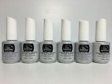 6 PACKS - IBD Soak off Just Gel Polish LED UV Nails - BASE COAT- 0.5 oz/ 15 ml