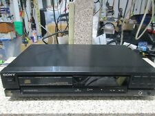 Sony Cdp-390 Single Disc Cd Player (No Remote) Made in Japan Free Ship