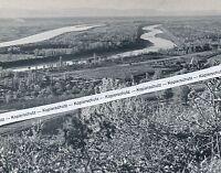 Bamlach im Markgräflerland - Bad Bellingen - Rheinlandschaft - um 1955   K 10-19