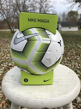New $60 Nike Team Nfhs Magia Ii Soccer Ball Size 5 Match Sc3537-100 Black Friday