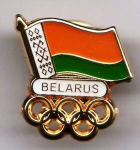 UNDATED OLYMPIC GAMES PIN. NOC. BELARUS. SMALL PIN