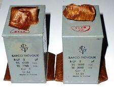 2 condensateurs au papier huilé SAFCO 2µF NOS TService 1000 V TEssai 3000 V