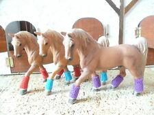 Bandagen für Schleich Pferde SET 2 Zubehör Modellpferde