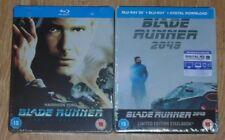 Blade runner & Blade runner 2049 (blu-ray) Steelbook. NEW & SEALED (UK release)