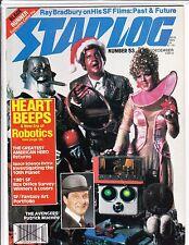 STARLOG Magazine #53 Dec1981 HEART BEEPS BRADBURY BLADE RUNNER VF