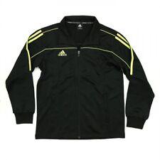 NEW adidas Martial Arts Track Suit Jacket Gym Taekwondo Karate MMA-BLACK/LIME