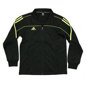 NEW adidas Martial Arts Track Suit Jacket Gym Taekwondo Karate MMA-BLACK/LIME