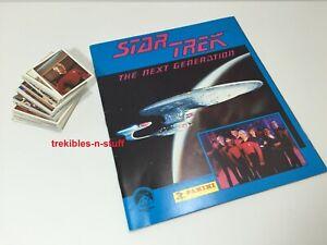 Star Trek The Next Generation STICKER & ALBUM Set 1987 Panini ORIGINAL