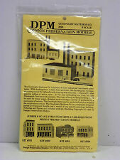 "DESIGN PRESERVATION MODELS N SCALE U/A ""GOODNIGHT MATTRESS CO"" PLASTIC MODEL KIT"