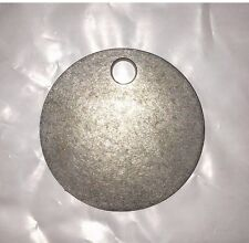 "AR500 3"" X 1/2"" Gong Hanger Steel Shooting Target NRA Action Pistol Plate"