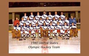 1980 USA Olympic Hockey Team PHOTO Miracle On Ice, United States Winter Olympics