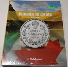 VISTA COIN BOOK CANADA 10 CENTS (DIMES) - VOL 1 - 1858-1952