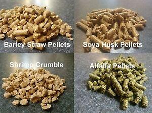 2kg Soya husk/shrimp snow, alfalfa, shrimp crumble. Or MIXED