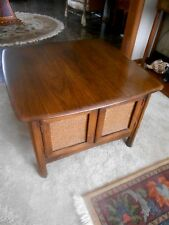Vintage 1966 Mid-Century Modern Large Nightstand Side End Table by Lane