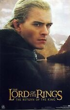 Lord Of The Rings 23x35 Return King Legolas Movie Poster 2003