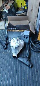 Bush White Bagless Cylinder Vacuum Cleaner