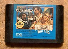 Uncharted Waters Cartridge (Koei, Sega Genesis, 1992) -- Authentic - Tested