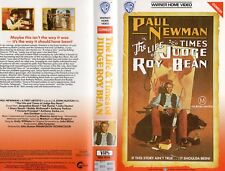 THE LIFE AND TIMES OF JUDGE ROY BEAN-VHS-PAL-NEW-Never played!-Original Oz relea