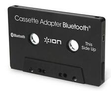 Ion Audio Bluetooth Cassette Adapter Black for Car Auto In Dash Stereo Syst