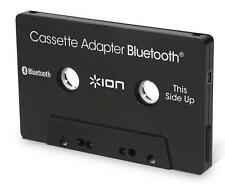 Ion Audio Bluetooth Cassette Adapter Receiver for Car Auto Truck in Black