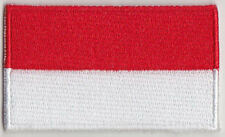 Monaco Country Flag Embroidered Patch T4