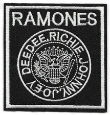 Ramones (band) Embroidered Patch Iron-On Sew-On fast Us shipping