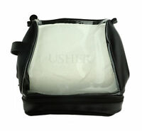 Usher Clear Cosmetic Bag New