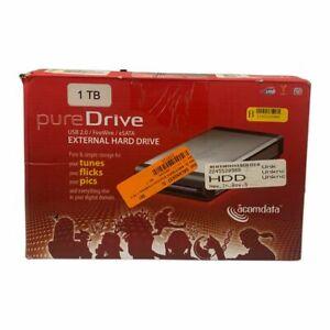 AcomData PureDrive 1TB USB 2.0/FireWire/eSATA External Hard Drive