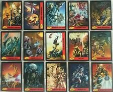 Mars Attacks Guide to the New Universe Chase Card Set 15 Cards Topps 2012