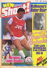 CHARLIE NICHOLAS / MARADONA / McMENEMY / BILLY HAMILTONShoot10AUg1985