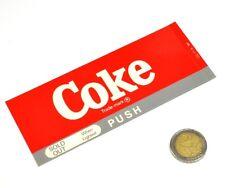 Vintage Coca-Cola Cavalier Automaten Label Beschriftung Schild Machine Tag 11A