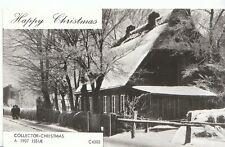 Greetings Postcard - Happy Christmas [A 1907 Issue] - Street Snow Scene - 2286