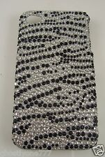 for Iphone 4 4g phone case bling Black and silver