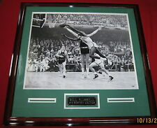 Bill Russell signed autographed Boston Celtics 22x26 framed photo, Psa/dna!!