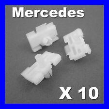 MERCEDES W124 124 PORTA stampaggio STRISCIA Trim Clip LATO ESTERNO
