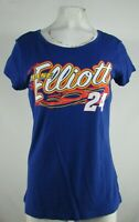 Chase Elliott NASCAR Women's G-III Blue Short Sleeve Shirt