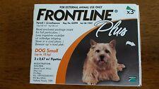 Merial Frontline Plus Orange 3 Pack For Dogs 0-22 lb (0-10 kgs)
